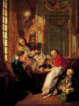 Boucher El Bano De Diana.Boucher Ajuar Y Libertinaje