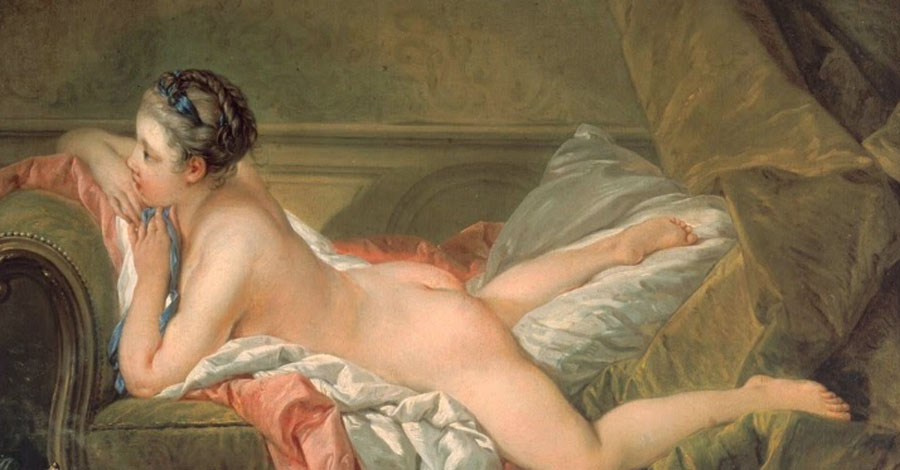 François Boucher, Desnudo descansando, 1752. Pinacoteca Antigua de Múnich