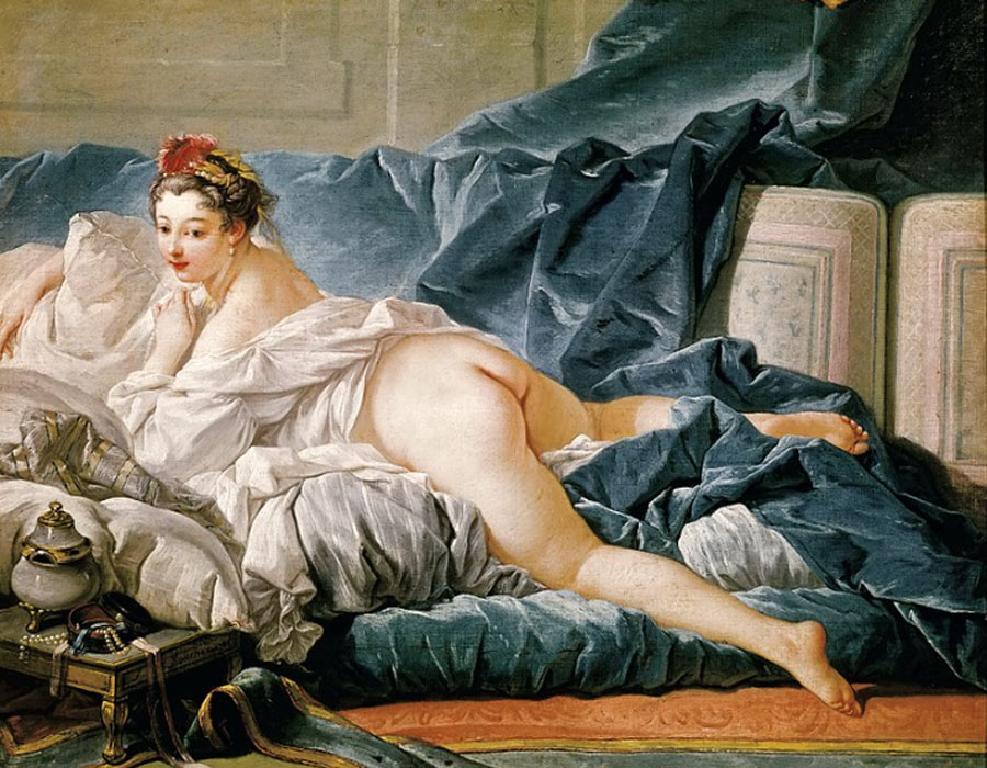 François Boucher. Odalisca morena, 1743. Museo del Louvre