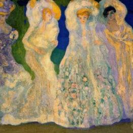 Anglada-Camarasa. Los ópalos, hacia 1906. Museo de Bellas Artes de Buenos Aires