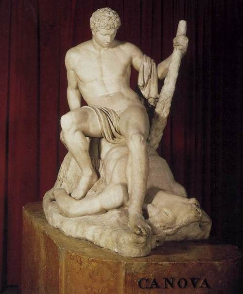 Canova. Teseo y el minotauro, 1781-1783