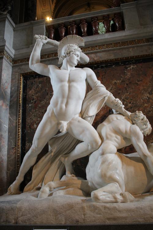 Canova. Teseo en lucha con un centauro, 1804-1819