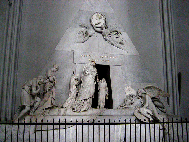 Canova. Tumba de la archiduquesa María Cristina de Habsburgo, 1798-1815