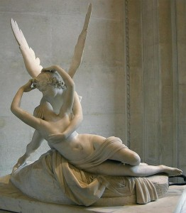 Canova. Escultura del neoclasicismo, amor Eros y Psyche, 1787-1793