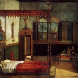 Vittore Carpaccio. Sueño de Santa Úrsula, 1495