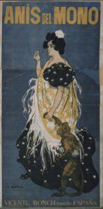 Ramón Casas. Anís del Mono (Mono y mona), 1898. MNAC