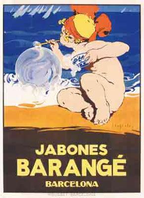José Segrelles. Cartel para jabones Barangé