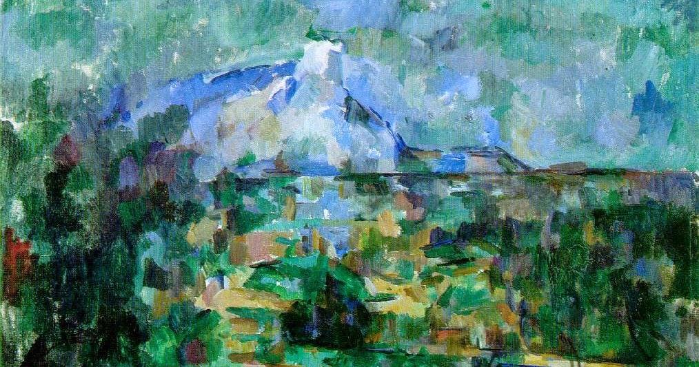 Cézanne. La montaña Santa Victoria vista desde Lauves, 1904-1906