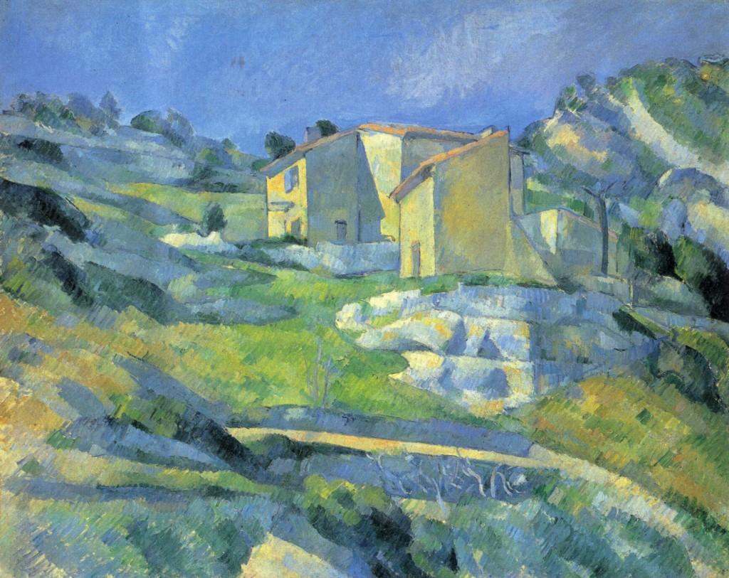 Cézanne. Casas en L'Estaque, 1880