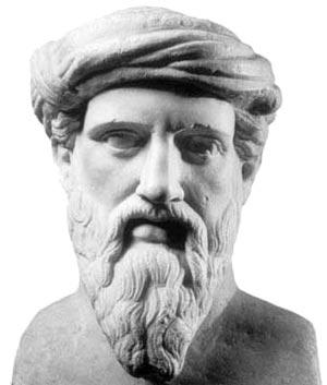 Busto de Pitágoras. Museo Capitolino, Roma