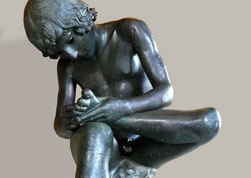 El niño de la espina o El espinario, s. I a.C. Palacio de los Conservadores, Roma