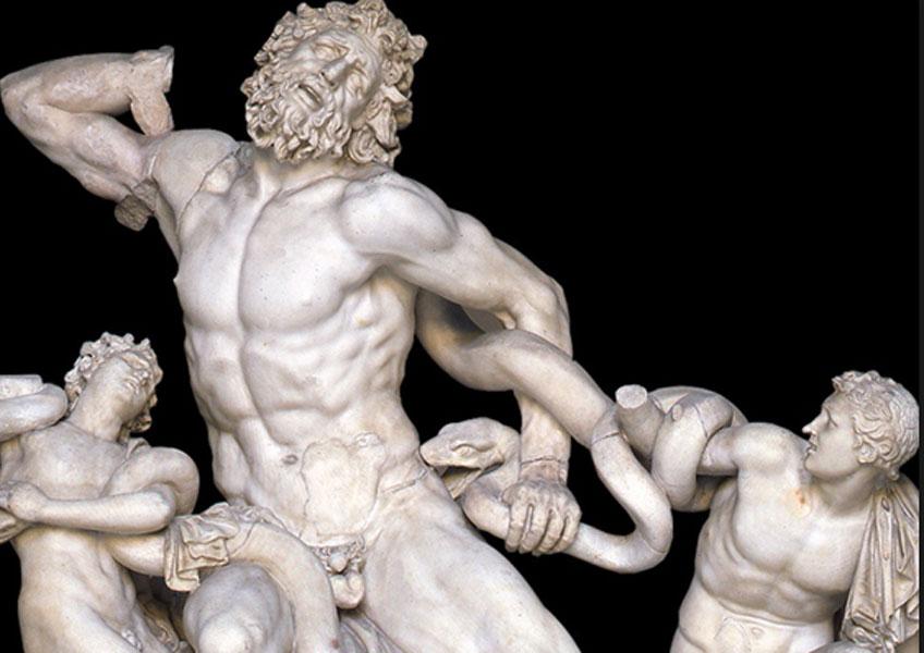 Laocoonte, 40-30 a.C. Museos Vaticanos