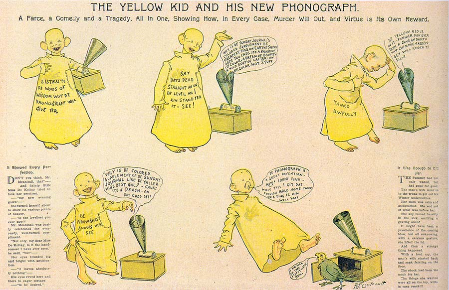 Yellow Kid. New York Journal,1895-1898