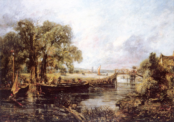 View on the Stour, near Dedham