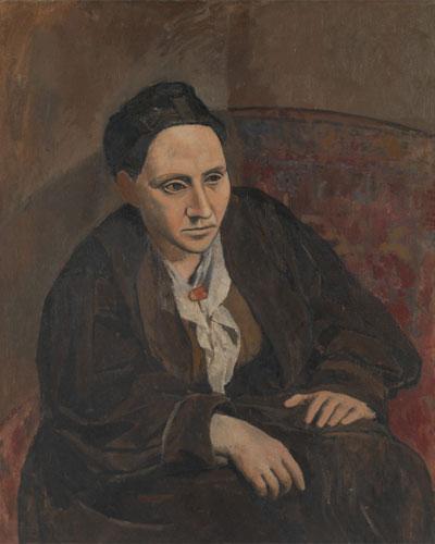 Pablo Picasso. Retrato de Gertrude Stein, 1906. Metropolitan Museum of Art, Nueva York