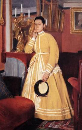 Degas. Retrato de Thérèse Morbili, hacia 1869. Colección particular