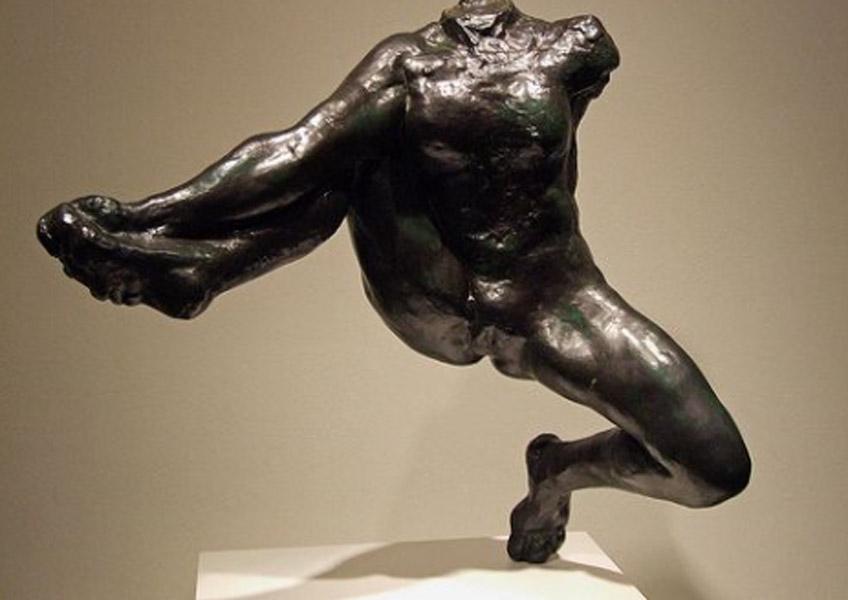 Rodin. Iris, mensajera de los dioses, 1890-1981. Colección Hirshhorn, Nueva York