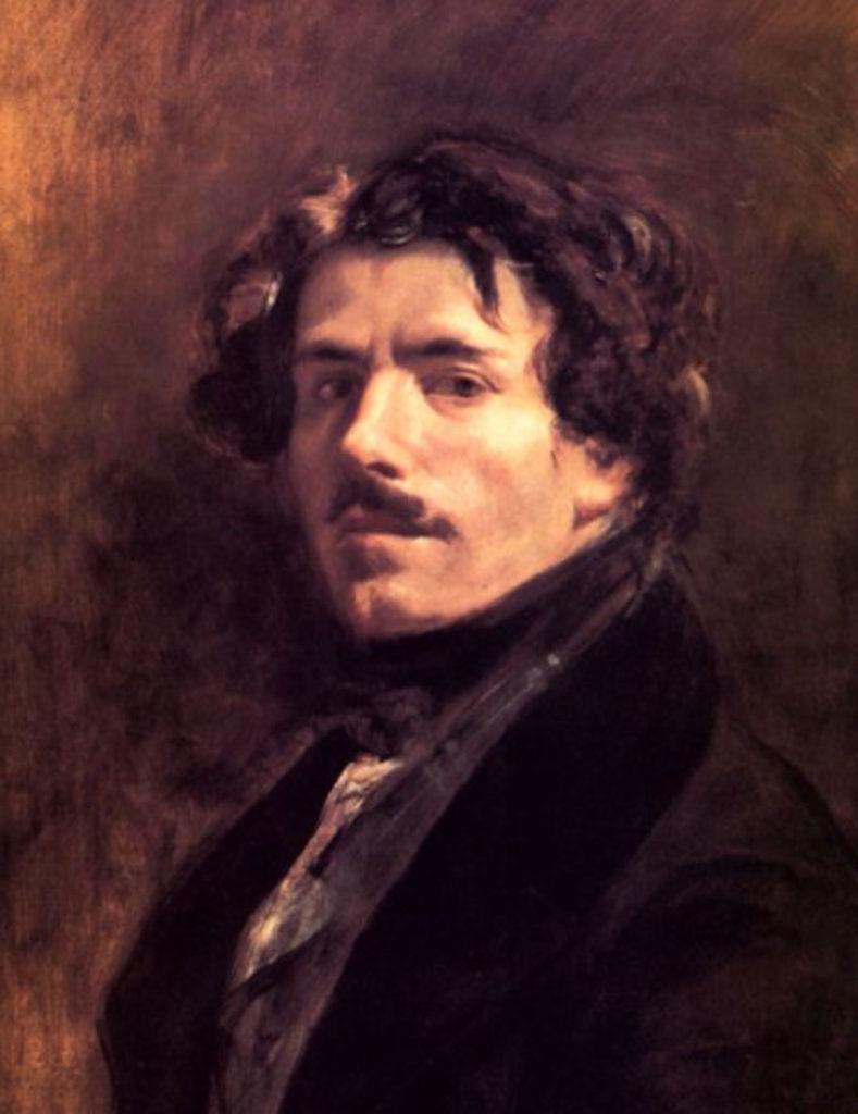 Delacroix. Autorretrato, 1839. Museo del Louvre