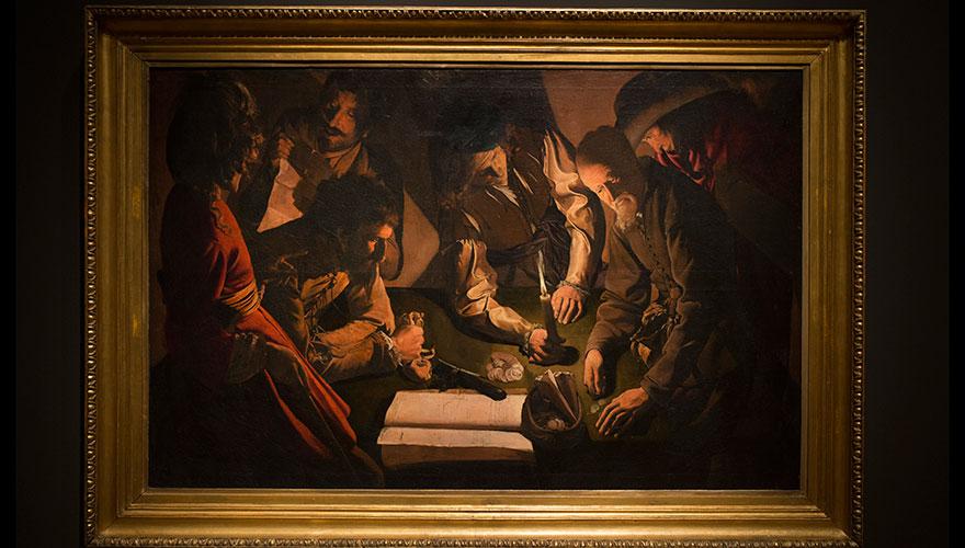 Georges de la Tour. El pago del dinero. National Gallery, Lviv, Ucrania
