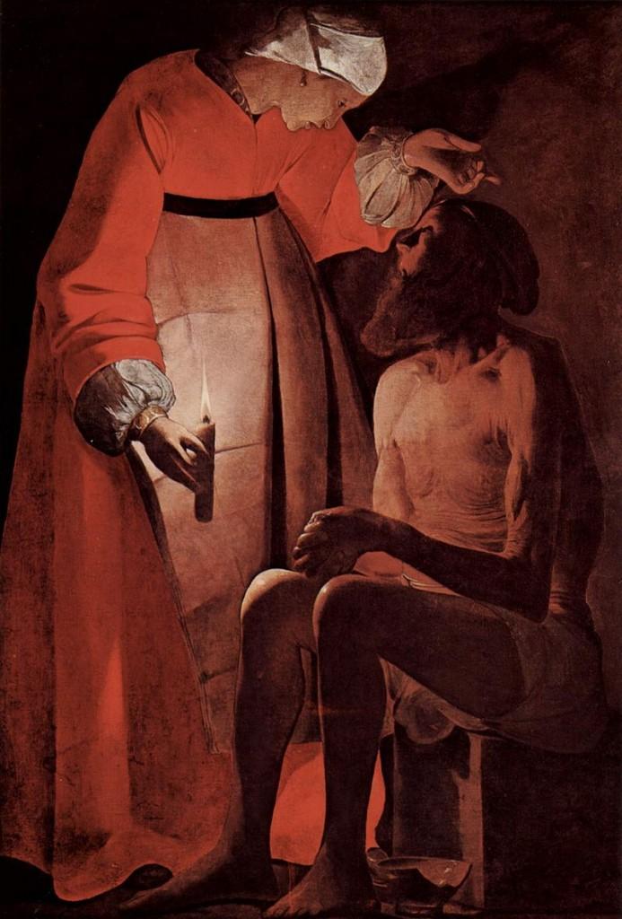 Georges de la Tour. Job y su mujer. Musée départemental d´ Art ancien et contemporain, Épinal