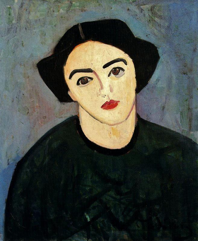 Derain. Retrato de Alix, 1907