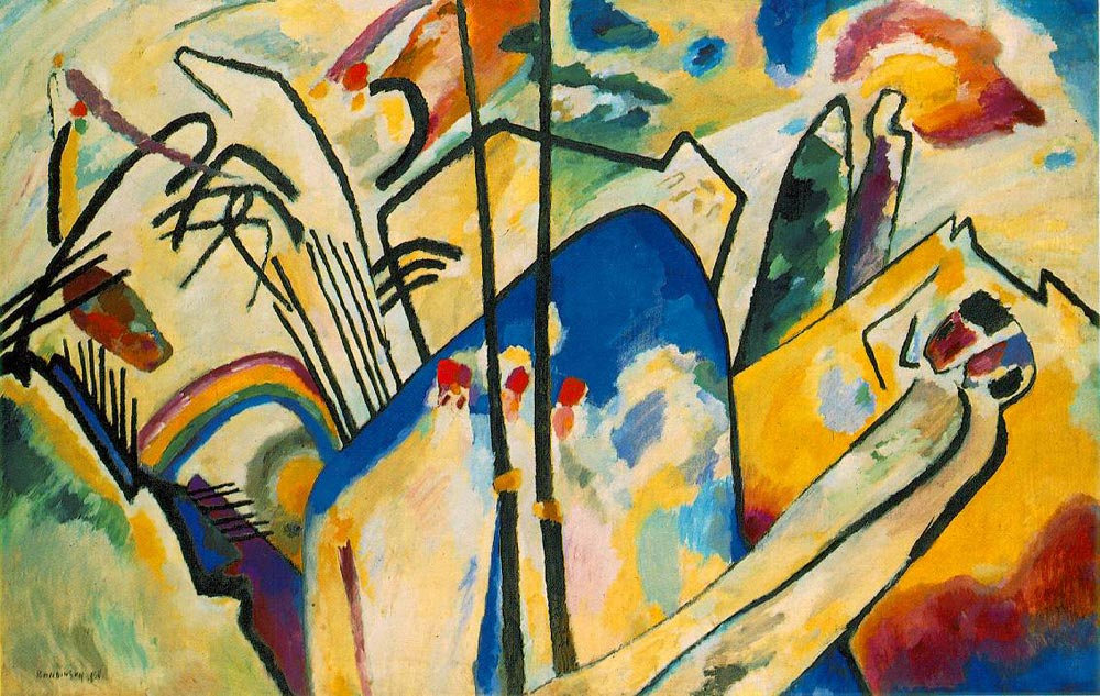 Kandinsky. Composition IV, 1911