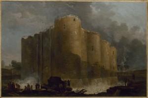Hubert Robert. La Bastilla en los primeros días de su demolición, 1789. Musée Carnavalet