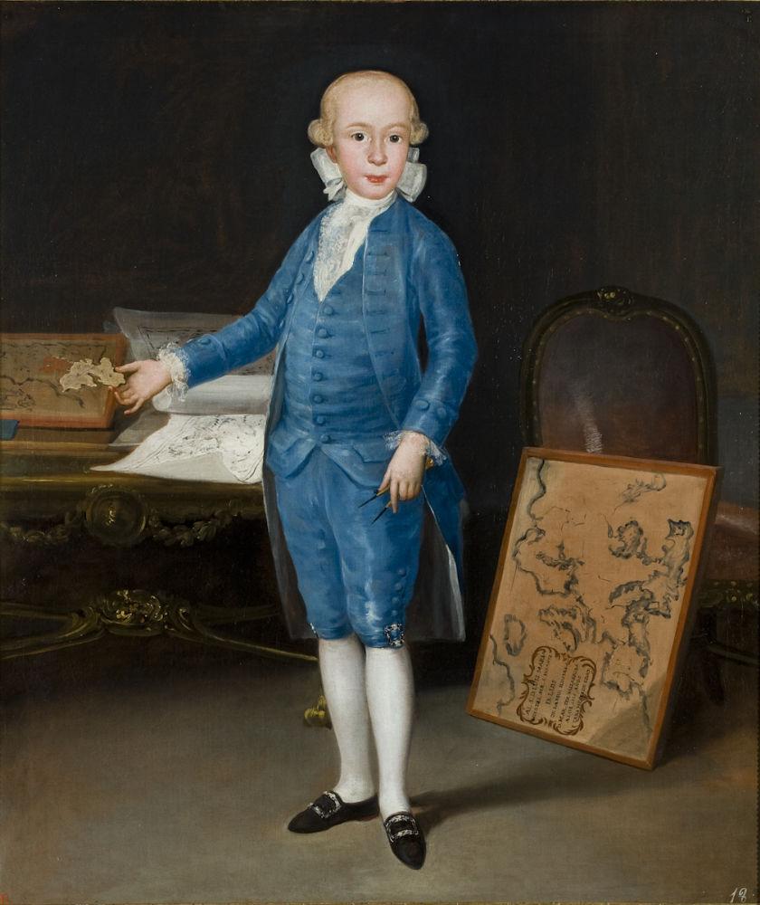 Goya. Don Luis María de Borbón y Villabriga