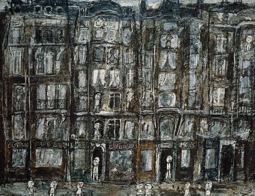 Jean Dubuffet. Apartment Houses, Paris, 1946. Metropolitan Museum