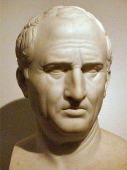 Bertel Thorvaldsen. Marco Tulio Cicerón, 1799-1800. Thorvaldsens Museum, Copenhague