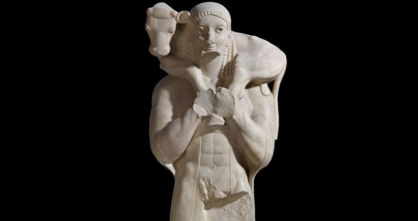Moscóforo, 570 a.C