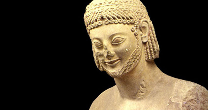 Jinete Rampín, s VI a.C. Museo de la Acrópolis de Atenas
