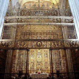 Forja en la Capilla Mayor de la Catedral de Sevilla