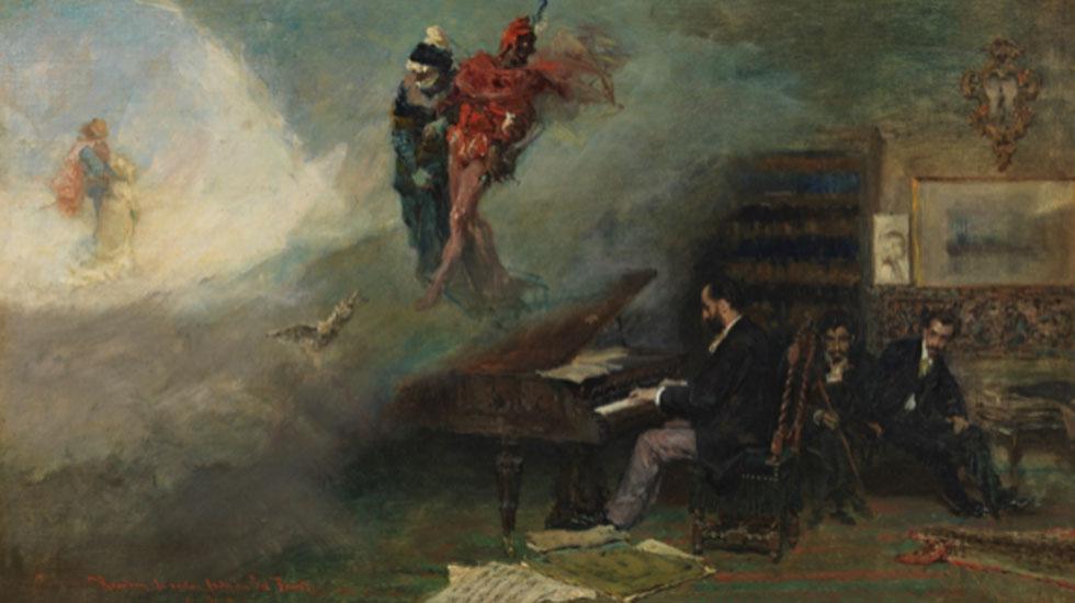 Mariano Fortuny. Fantasía sobre Fausto, 1866. Museo Nacional del Prado