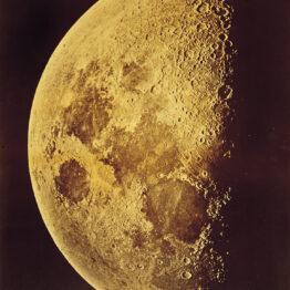 Lewis Morris Rutherford. La Luna, 4 de marzo de 1865