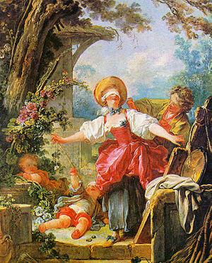 Fragonard. La gallina ciega, hacia 1760. Toledo Museum of Art