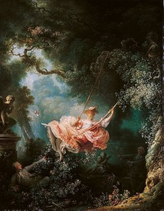 Fragonard. El columpio, 1767. Wallace Collection