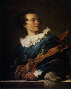 Fragonard. Retrato del abad de Saint-Non, 1770. Musée du Louvre