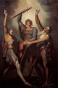 Füssli. Juramento de Rütli, 1780