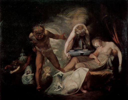 Füssli. El sueño de Belinda, 1780-1790