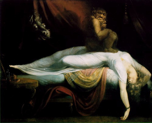 Füssli. La pesadilla, 1781