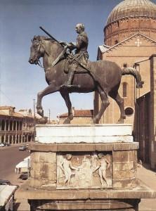 Donatello. Gattamelata, 1447-1453