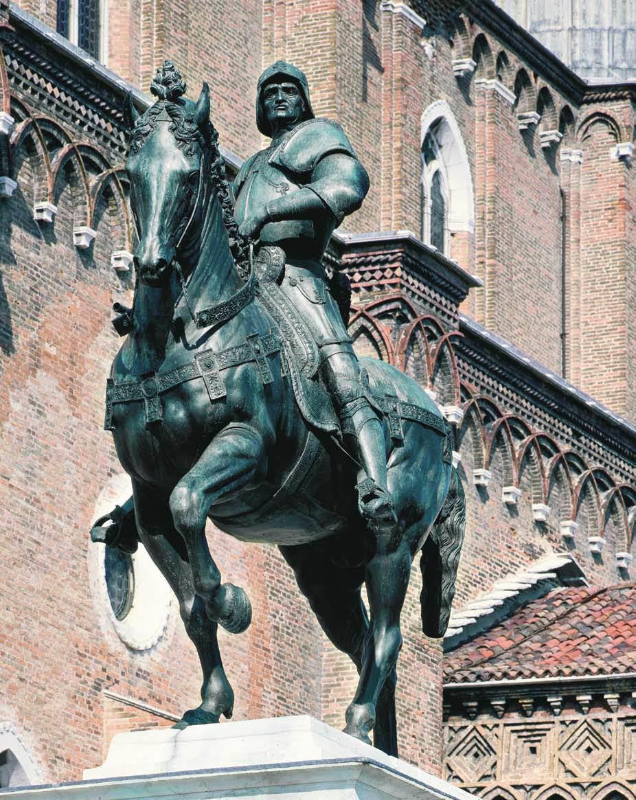 Verrocchio. Monumento a Colleoni, 1480-1488
