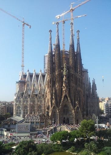 Antoni Gaudí. Sagrada Familia