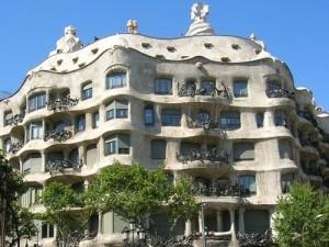 Antoni Gaudí. Casa Milá