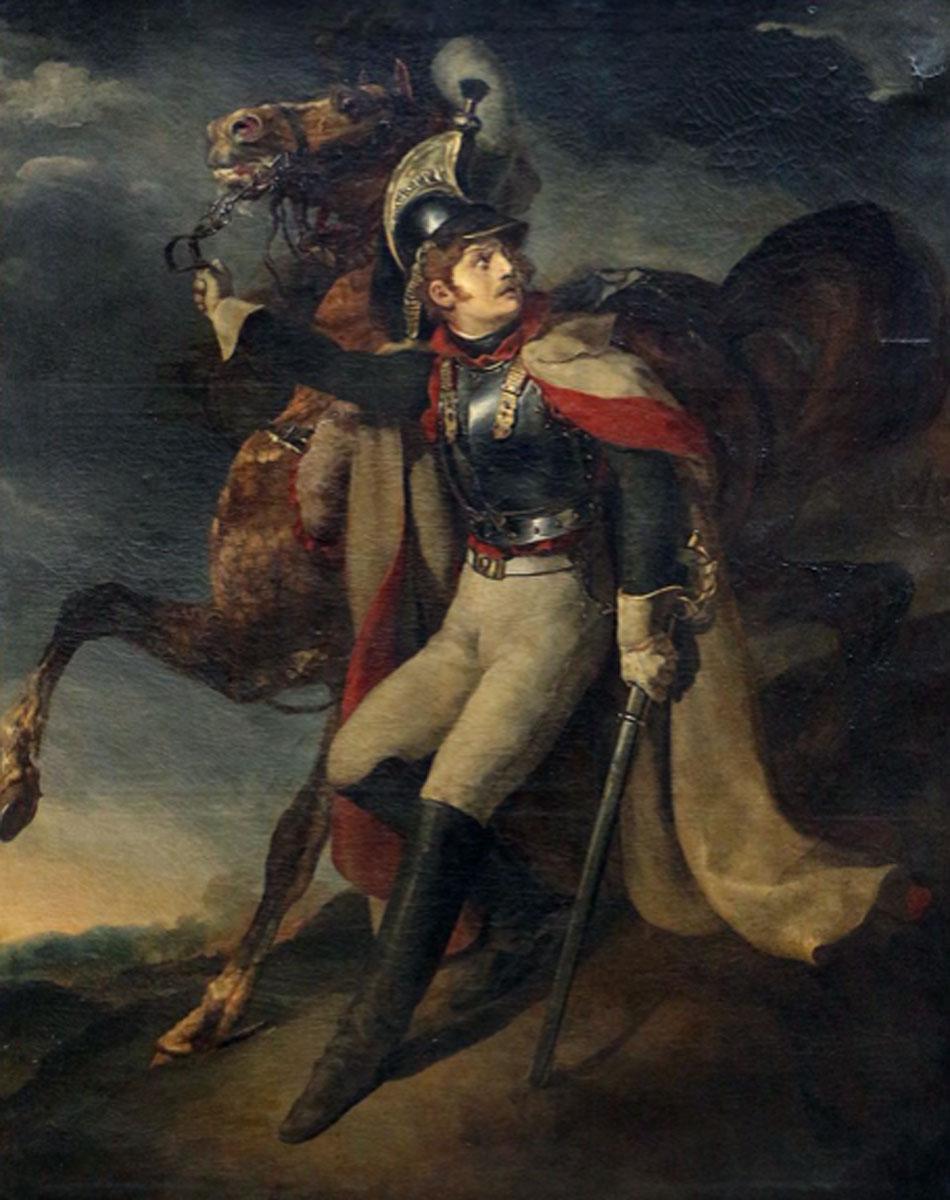Géricault. Coracero herido, 1814. Musée du Louvre