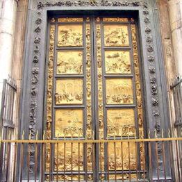 Ghiberti. Puerta del Paraíso. Baptisterio de Florencia
