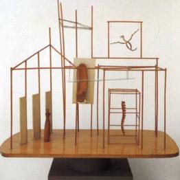 Giacometti. El palacio a las cuatro de la mañana, 1931-1932. MoMA