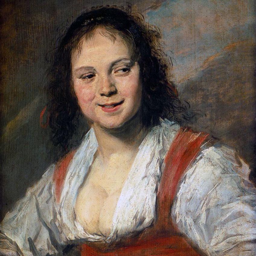 Frans Hals. Bohemia o La gitana, hacia 1628-1630. Museo del Louvre