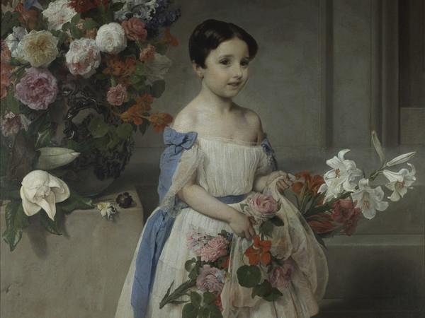 Francesco Hayez. Retrato de Antonietta Negroni Morosini, 1858